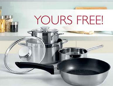 Free Induction saucepans for 2015!