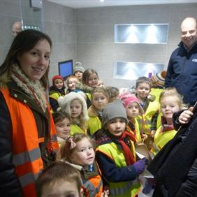 Visit from Hugglescote Primary School - Feb 2016